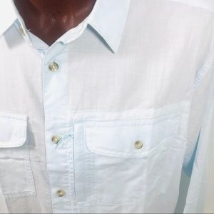 MEN'S NEW Patagonia Chambray Patch Pockets XXL